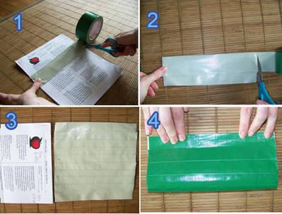 Duct Tape Wallet Tipstricks